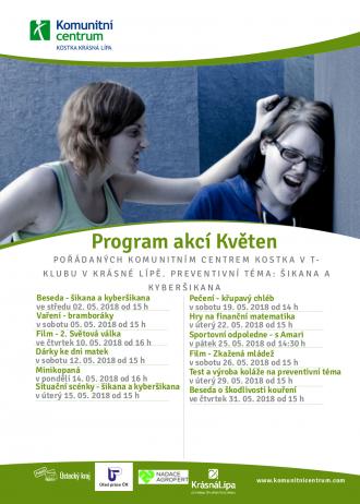 Program akcí T-klub - květen 2018