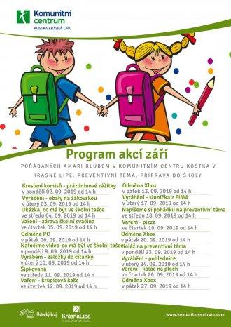 Program akcí Amari klubu - září 2019
