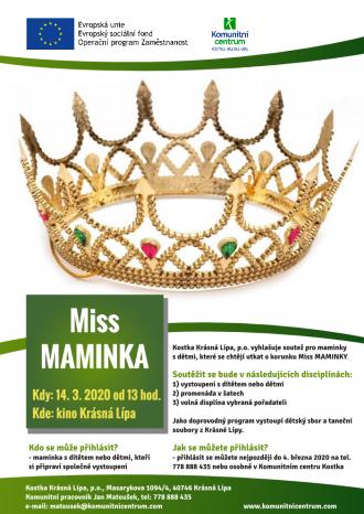 Miss MAMINKA - ZRUŠENO
